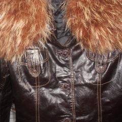 Куртка шкіряна 42 розмір