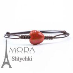 Керамический браслет на руку - Любовный камень