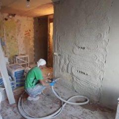 Штукатурка стін машинним способом