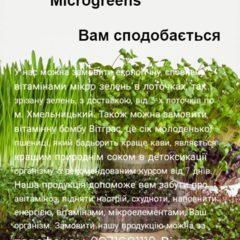 Продам мікрозелень та Сік пшениці Вітграс