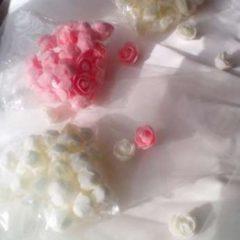 Розочки для весільного декору