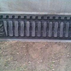 Форми для виготовлення бетонного паркану
