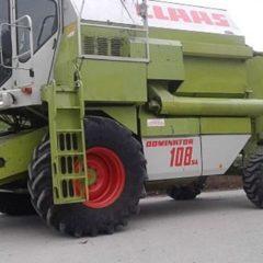 Комбайн Claas Dominator 108 SL 1989г.в. регист 1990г