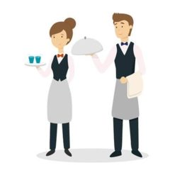 Вакансія агентства: офіціант-бармен