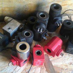 Катушки до клапанів (до гідроборта)