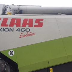 Комбайн зернозбиральний Claas Lexion 460 Evolution