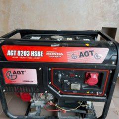 Продам електростанцію AGT-8203 HSBE HONDA