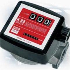 Механічний лічильник для дизпалива К33 PIUSI, Італія