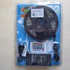 Светодиодная лента LED RGB 5 метров,RGB 5050+Контролер+Пульт+БП