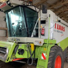 Комбайн Claas Lexion460 Evolution 2003 год .нараб. 2200р.ч.