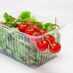 Одноразова упаковка: блістер, упаковка для суші, фруктів, тортів