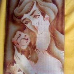 """Картина на стену """"Девушка с розой"""""""