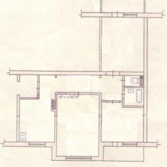 3-кімнатна, центр, 70 кв.м, лоджія та балкон