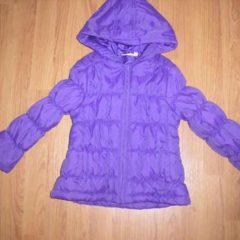 Продам теплую демисезонную курточку р.116