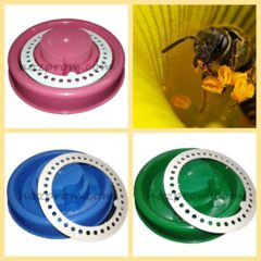 Поилки для пчел, исключающие возможность гибели насекомых.