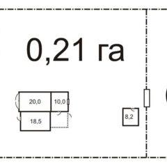 Будинок на ділянці 30 сот. 2 км від моря, 8 км від Коблеве