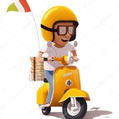 Вакансія агентства: водій на доставку піци та сушів