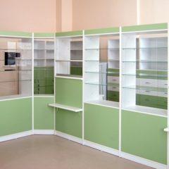 Меблі для аптек на замовлення