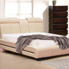 Ліжко з м'яким билом