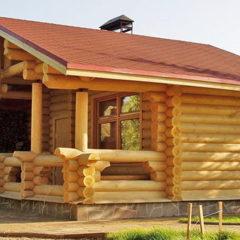 Будівництво дерев'яних будинків, саун. Інтер'єри