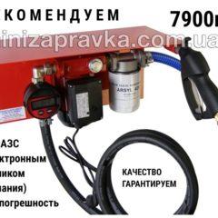 Мини АЗС 220В 30 л/мин с эл.счетчиком ( насосПольша, счетчик-Германия