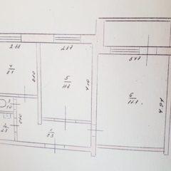 Двохкімнатна квартира Виставка біля Костела, окремі кімнати