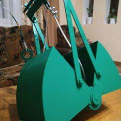 Ковш грейфер для чистки криниць