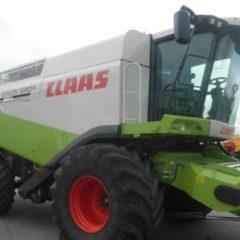 Комбайн зерноуборочный Claas Lexion 580, год выпуска - 2009