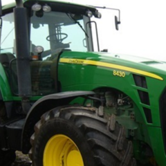 Трактор John Deere 8430, 2008 року випуску
