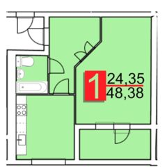 Продам квартиру в Дубово