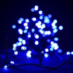 Гірлянда електрична LED 100, неон - блакитний - 70 грн.