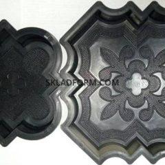 Форми для тротуарної плитки Декор 4,5 см