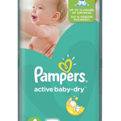 Подгузники Pampers Active Baby-Dry 4 / 64