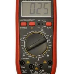 Цифровой мультиметр Тестер VC61A + Термопара (200мкФ) Оригинал