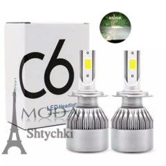 Светодиодные LED лампы Н-4. Цоколь: Н4 (ближний-дальний)