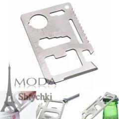 Инструмент-визитка с чехлом, плотная нержавеющая сталь