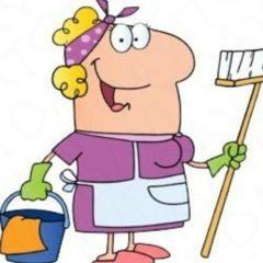 Прибиральниця запрошується на роботу в продуктовий магазин