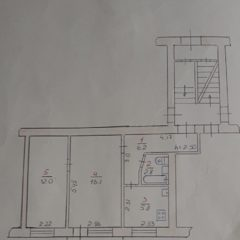 2-кімнатна, центр міста, 1 поверх, можливо під комерцію