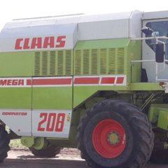 Комбайн зерноуборочный Claas Mega 208, 1995 г.в.